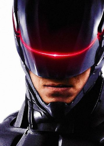 2010's Movie - ROBOCOP PAINT CLOSE canvas print - self adhesive poster - photo print